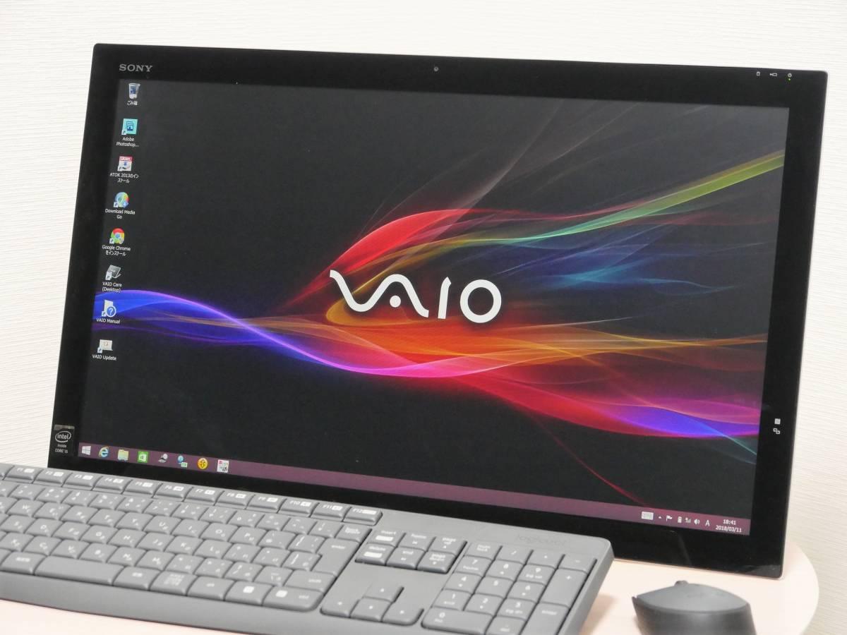 タッチパネル21.5型FullHD♪性能重視♪SVT212A14N(第4世代Core i5/8GB/250GB)/Windows8.1/Office/新品無線キーボード&マウス/VAIO Tap 21