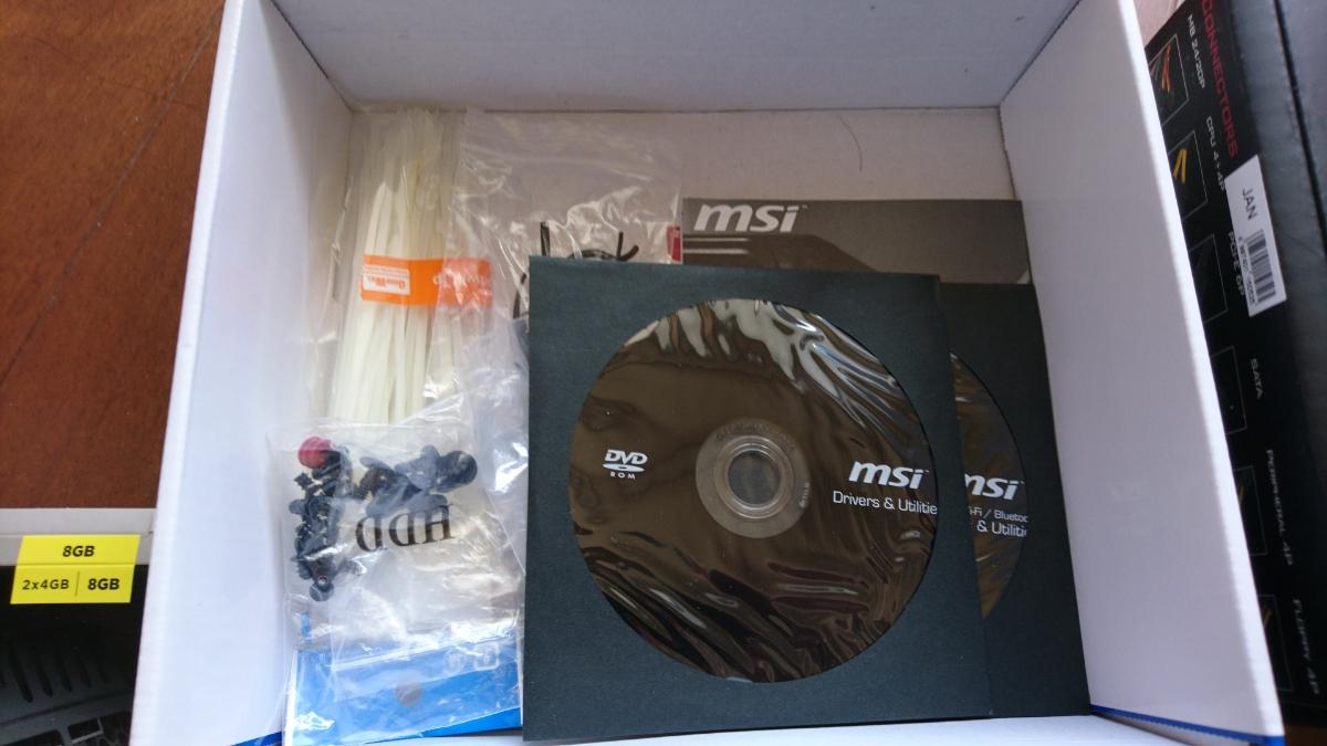 【売り切り】 自作PC 小型 i-74770(3.4Ghz) SSD(256GB) メモリDDR3(8GB)ケース(MONOBOX ITX2)win10_画像2