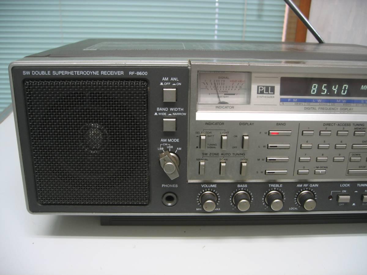 ナショナル National BCLラジオ RF-B600 動作品 難ありジャンク扱い_画像3