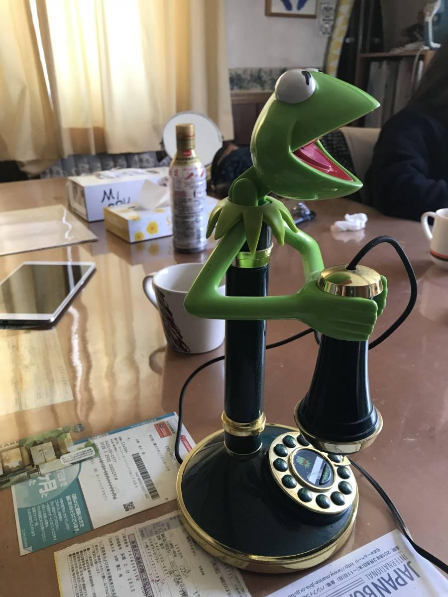 カエルの電話機 レトロ_画像3