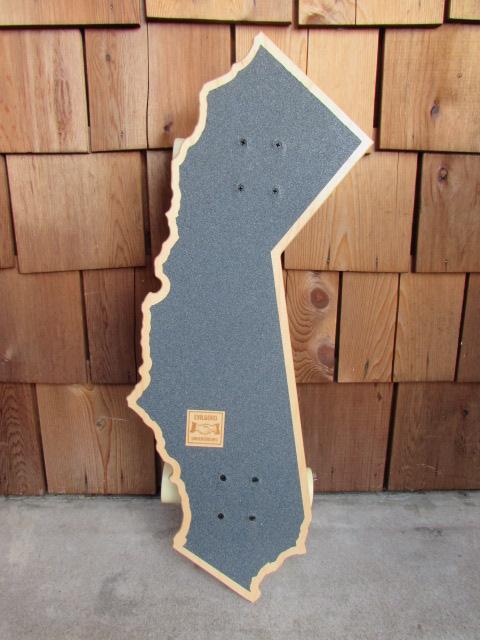 EVILGOOD UNDERGROUND CALIFORNIA SKATEBOARDS / エヴィルグッド カリフォルニア スケートボード フラッグチェック_画像3