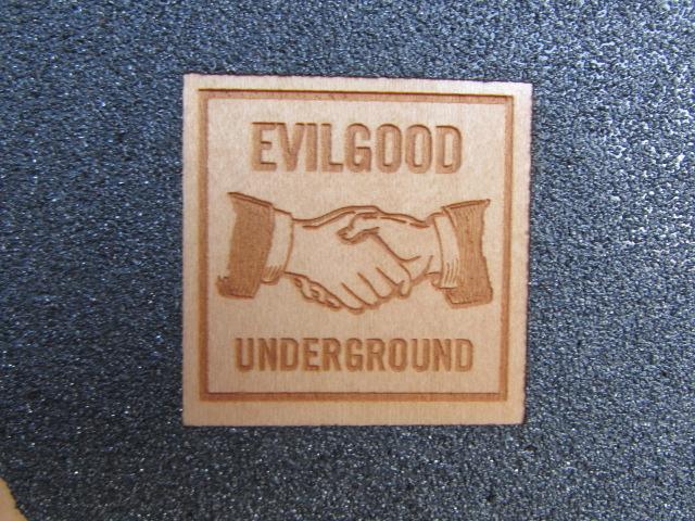 EVILGOOD UNDERGROUND CALIFORNIA SKATEBOARDS / エヴィルグッド カリフォルニア スケートボード フラッグチェック_画像4