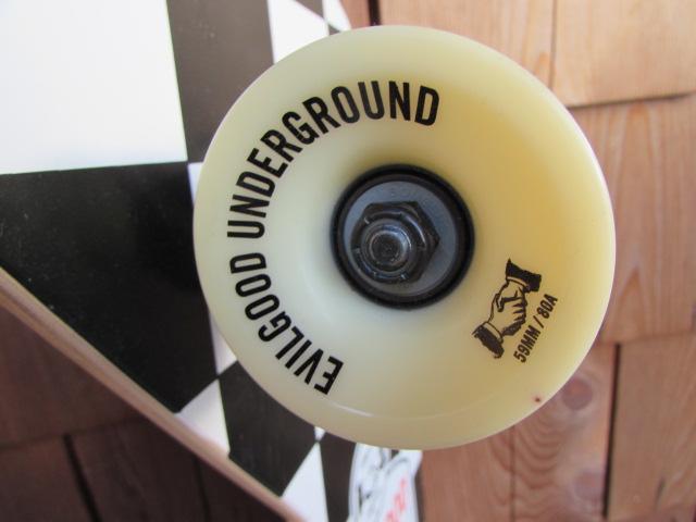 EVILGOOD UNDERGROUND CALIFORNIA SKATEBOARDS / エヴィルグッド カリフォルニア スケートボード フラッグチェック_画像5