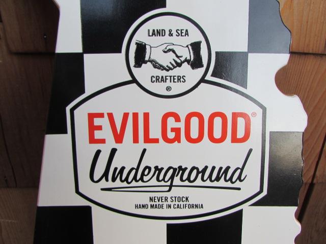 EVILGOOD UNDERGROUND CALIFORNIA SKATEBOARDS / エヴィルグッド カリフォルニア スケートボード フラッグチェック_画像2