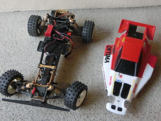 ラジコンカーまとめて4台 すべて車種不明 ジャンク_画像5