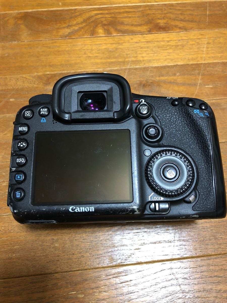Canon EOS 7D ボディのみ ジャンク品_画像3