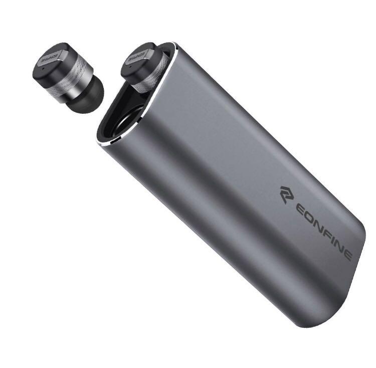 【新品未使用】定価1万円越え!Bluetooth イヤホン 左右独立型 ブルートゥース イヤホン 高音質 モバイルバッテリー付き 片耳 両耳対応
