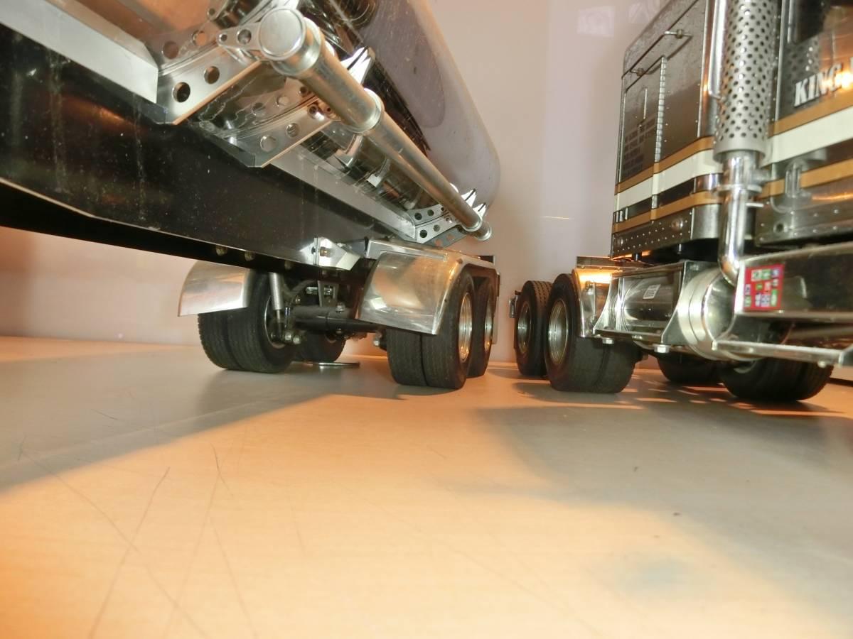 キングハウラー タミヤ  ラジコン  トラック  トレーラー  プロモ ATTACK-4 4WD AM27  ジャンク品_画像4