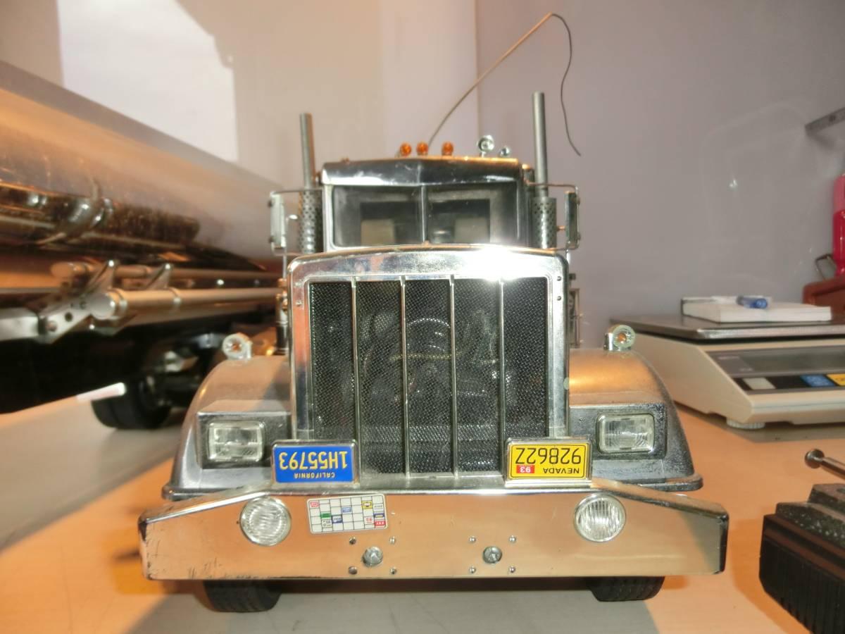 キングハウラー タミヤ  ラジコン  トラック  トレーラー  プロモ ATTACK-4 4WD AM27  ジャンク品_画像7