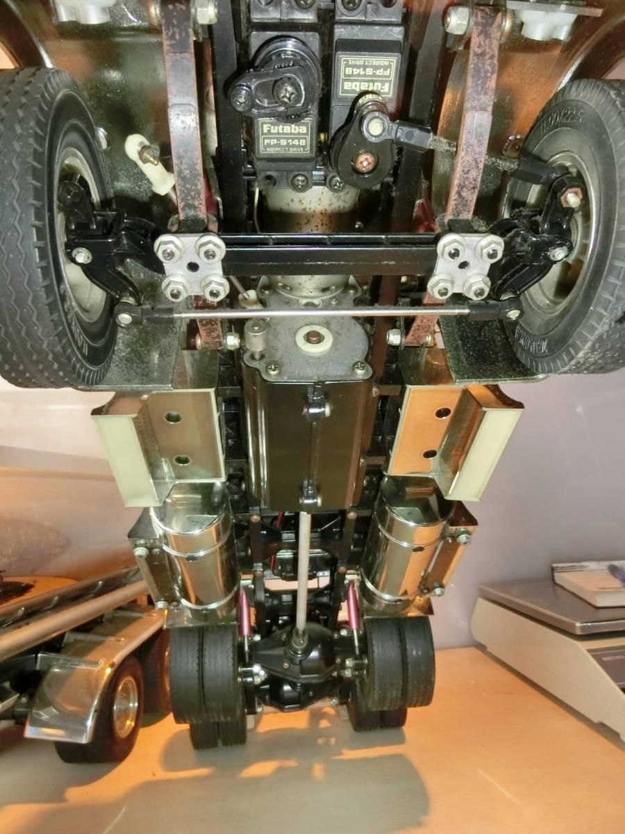 キングハウラー タミヤ  ラジコン  トラック  トレーラー  プロモ ATTACK-4 4WD AM27  ジャンク品_画像6