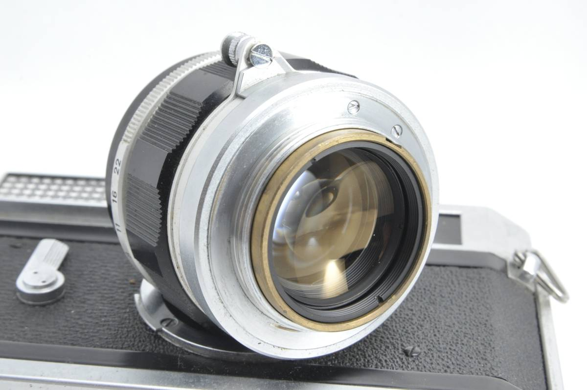 #1538 CANON7 LENS 50mm F1.4 キャノン レンジファインダー フィルムカメラ_画像3