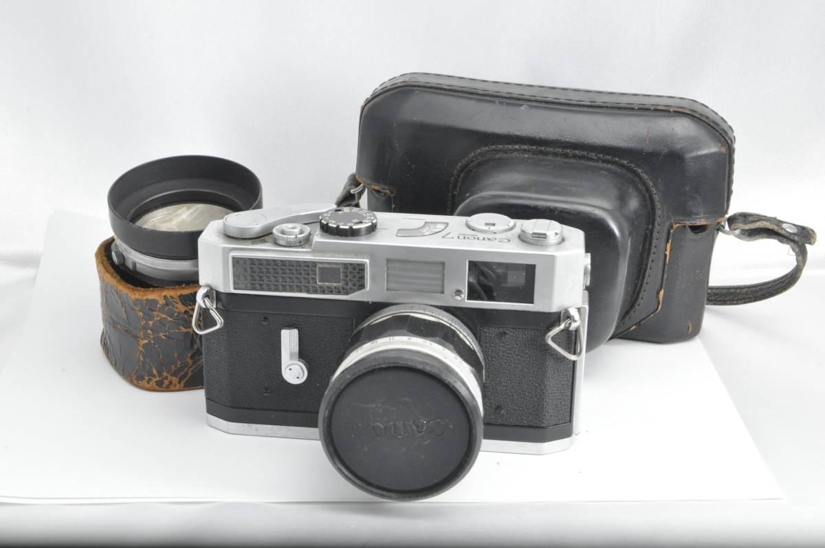 #1538 CANON7 LENS 50mm F1.4 キャノン レンジファインダー フィルムカメラ
