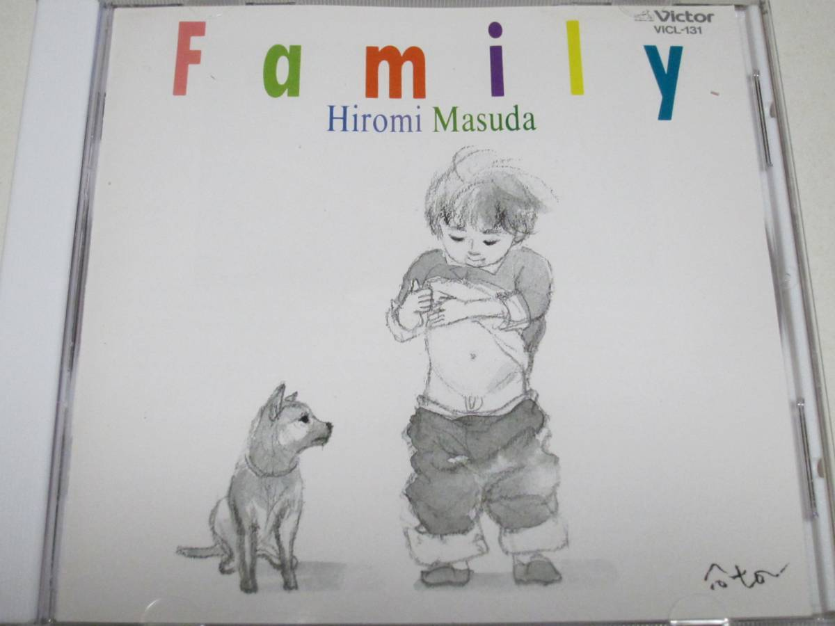 益田宏美(岩崎宏美)/ 家族 Family