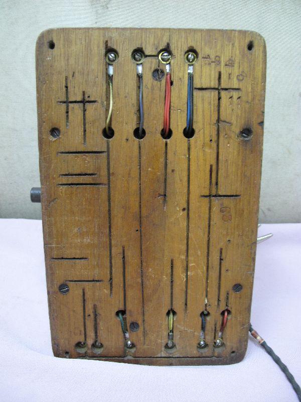 デルビル磁石式 電話機(277) 壁掛け 昭和レトロ_画像9