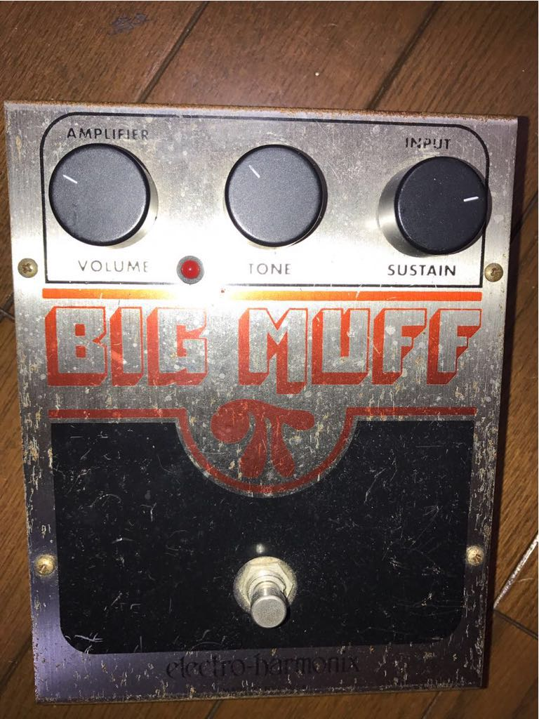 Big Muff Pi Electro Harmonix Maf Fuzz Noise Pie Ere Is Mo Effect