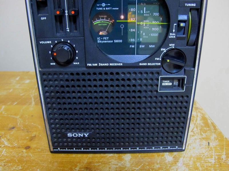 ソニースカイセンサー、ICF-5600です_画像5