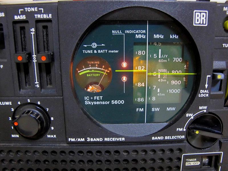ソニースカイセンサー、ICF-5600です_画像3