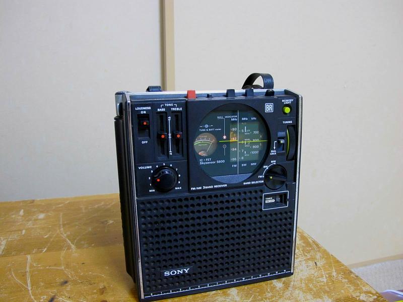 ソニースカイセンサー、ICF-5600です_画像2