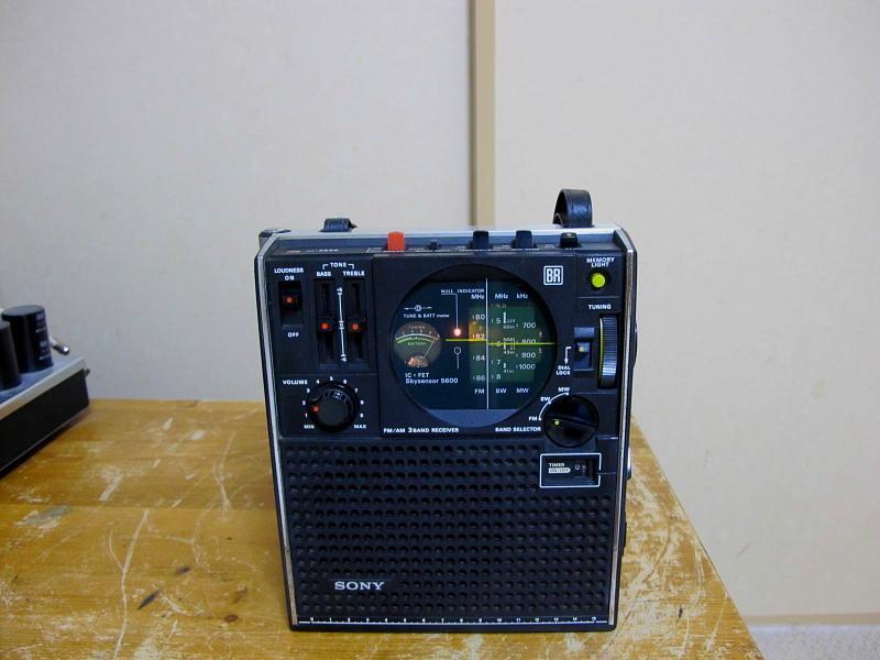 ソニースカイセンサー、ICF-5600です
