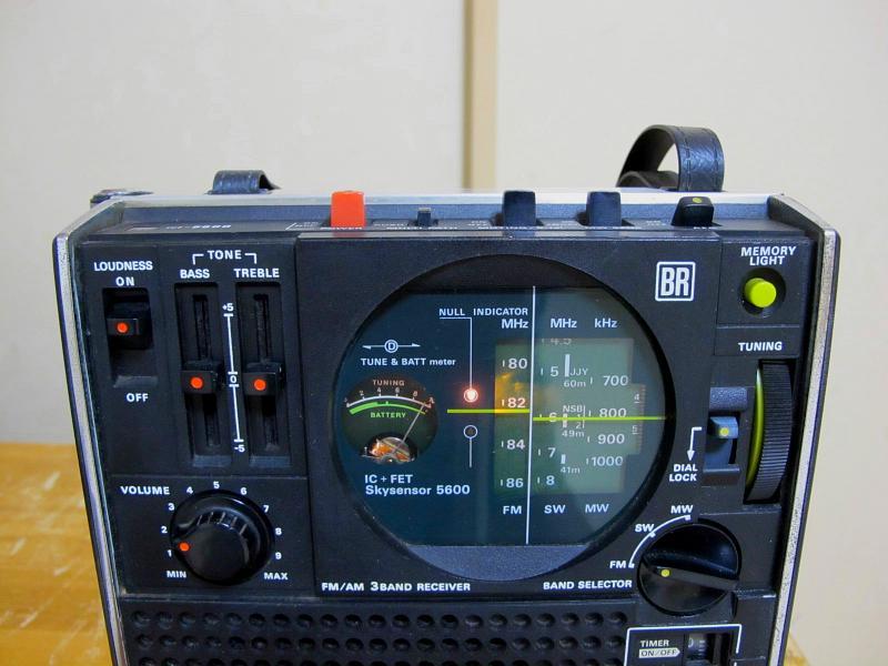 ソニースカイセンサー、ICF-5600です_画像4