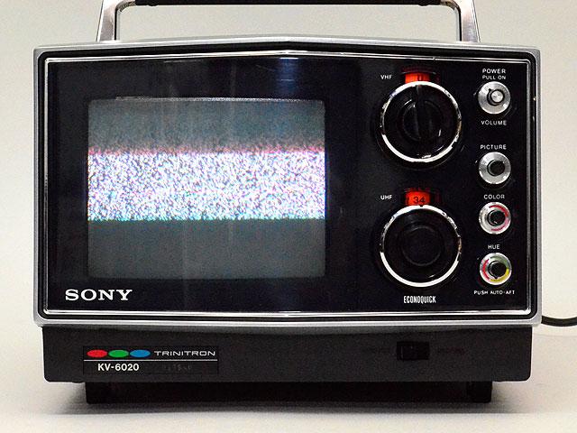SONY/ソニー KV-6020 ブラウン管カラーテレビ 78年製 昭和レトロ アンティーク_画像2