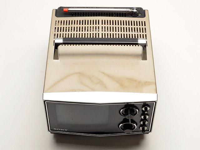 SONY/ソニー KV-6020 ブラウン管カラーテレビ 78年製 昭和レトロ アンティーク_画像4