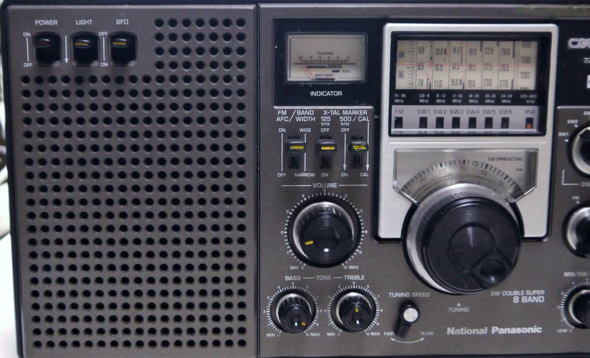 クーガ(RF-2200)AM*SW*MW*高感度受信整備品_画像2