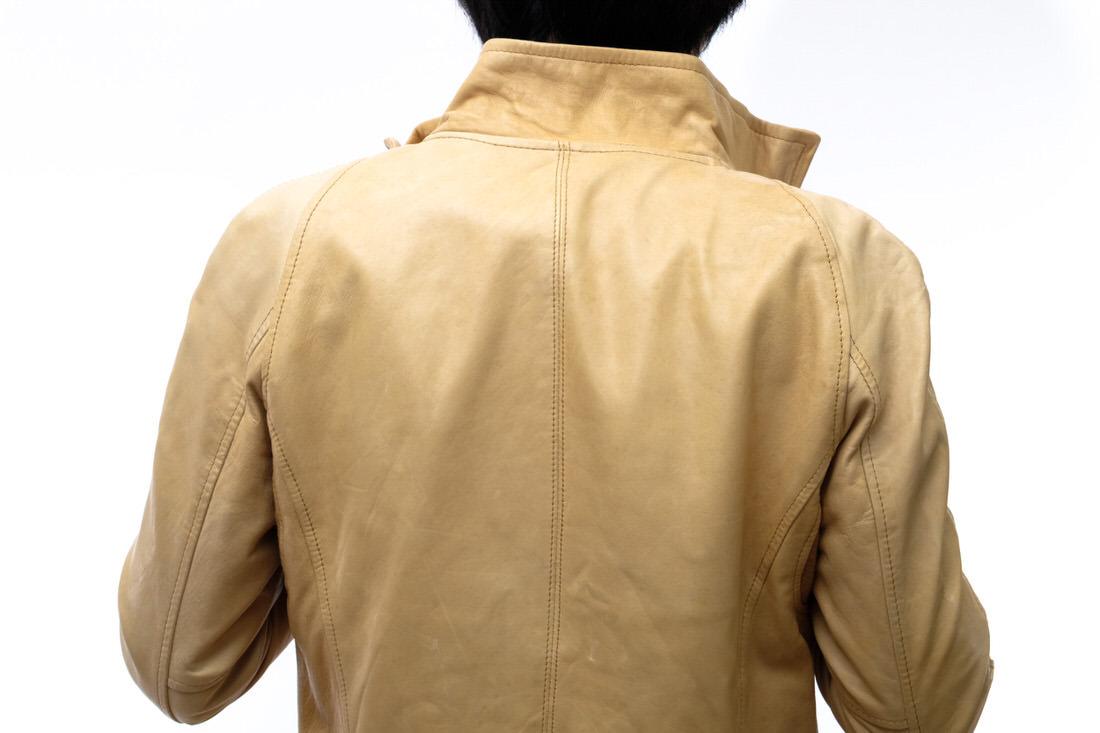 定価51732円!glamb グラム ライダース ジャケット Benzie riders ベンジーライダース シングルライダース 2 メンズ レザー 革 j1676_画像8