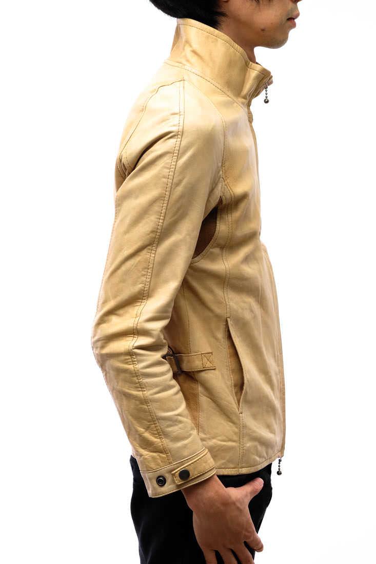 定価51732円!glamb グラム ライダース ジャケット Benzie riders ベンジーライダース シングルライダース 2 メンズ レザー 革 j1676_画像2