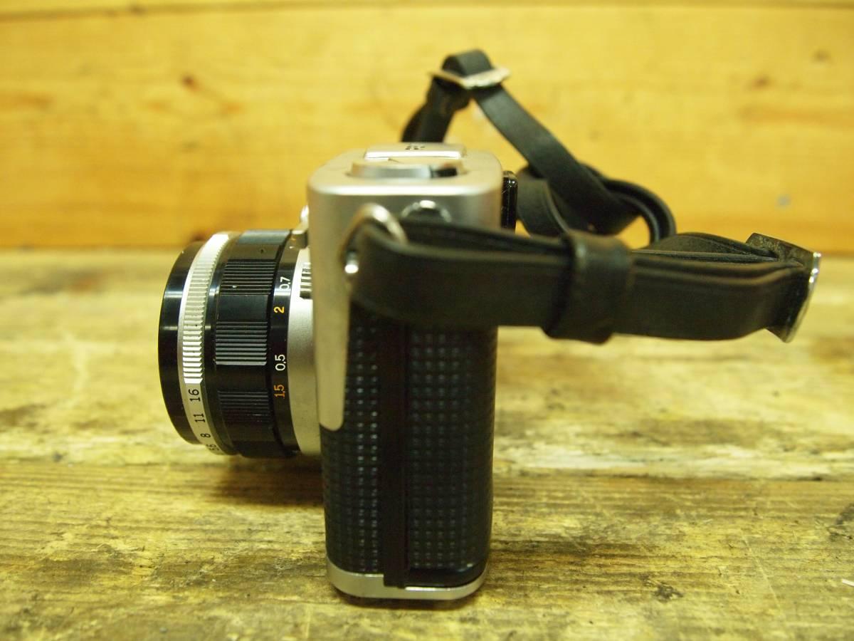 ☆オリンパス OLYMPUS-PEN F FV Zuiko 1:1.8 f=38mm_画像4
