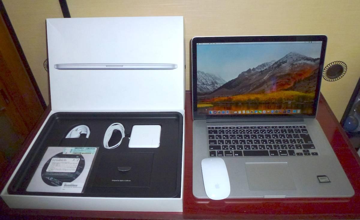 Macbook Pro Retina15.4inch Mid 2015 MJLU2J/A
