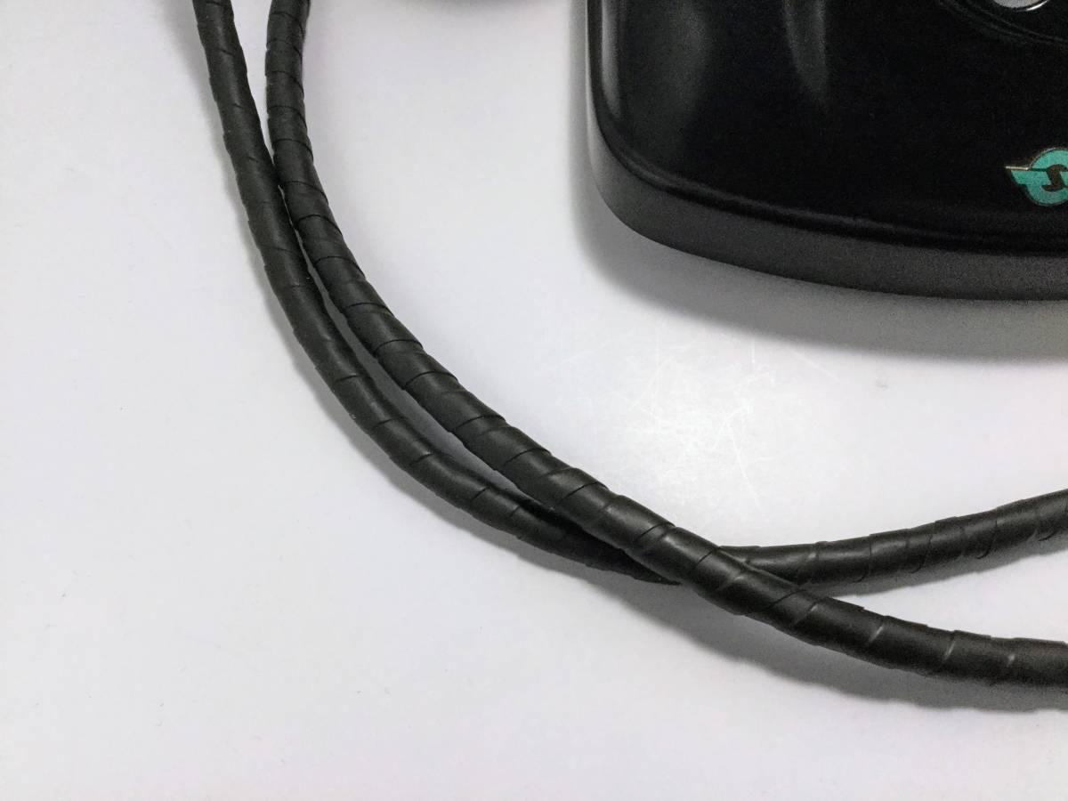 沖電気工業製 4号A自動式黒電話機 モジュラージャック換装済み 稼働確認済み 発着信/ベル鳴動/ダイヤル操作快調 昭和レトロ __画像10