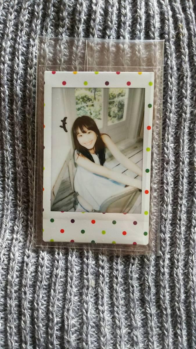 SKE48 AKB48 松井玲奈 直筆ラクガキ入りチェキ 2014年週刊少年マガジン29号 抽選品 当選品 直筆サインなし