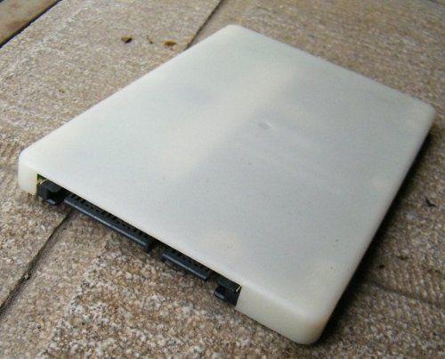 送料187円! mSATA(Mini SATA)50mm→2.5インチSATA 7mm厚 SSD変換ケース_画像2