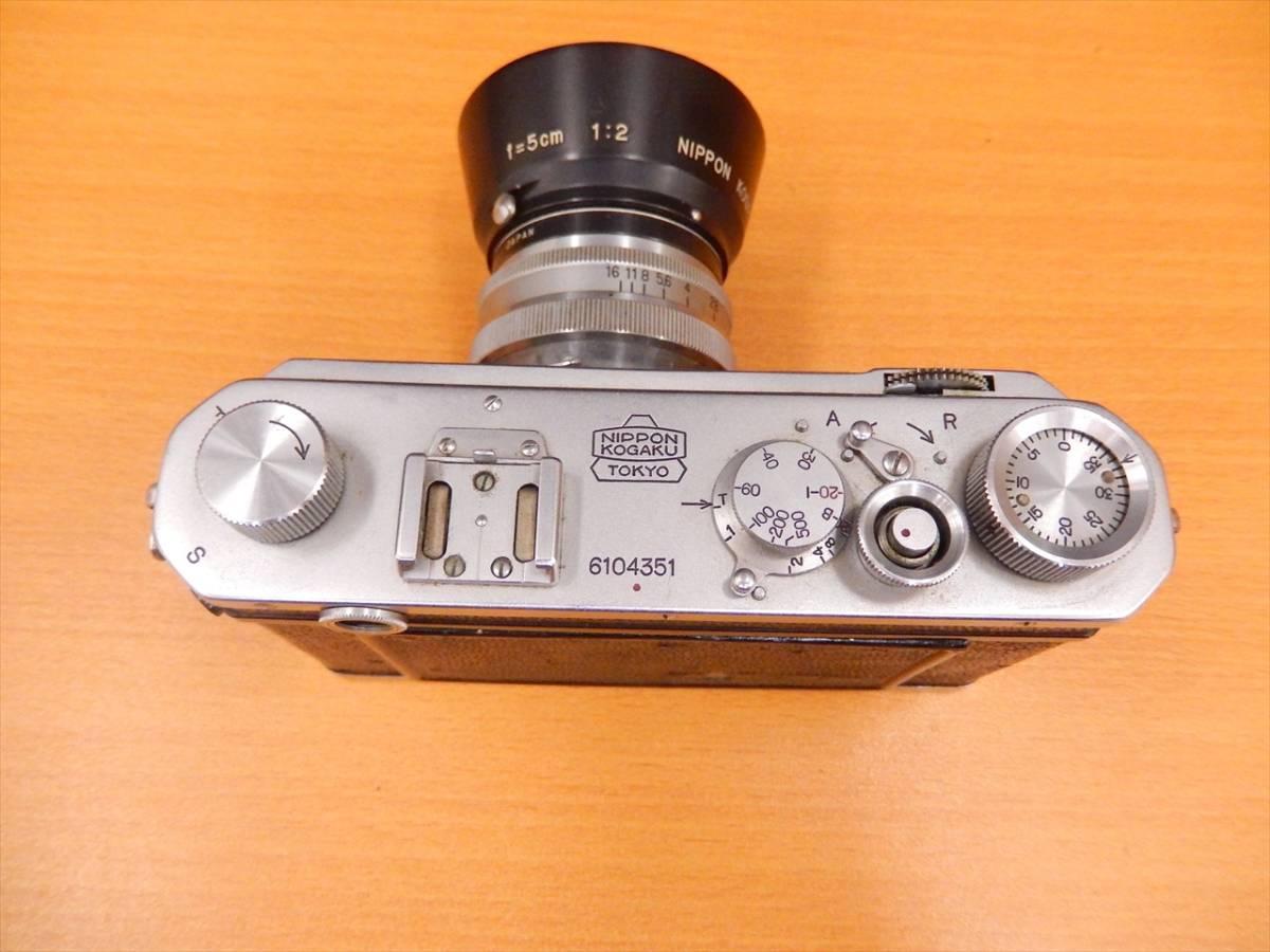 1円~Nikon 日本光学 1:2 f=5cm NIKKOR-H 40.5mm SL-C ジャンク_画像5