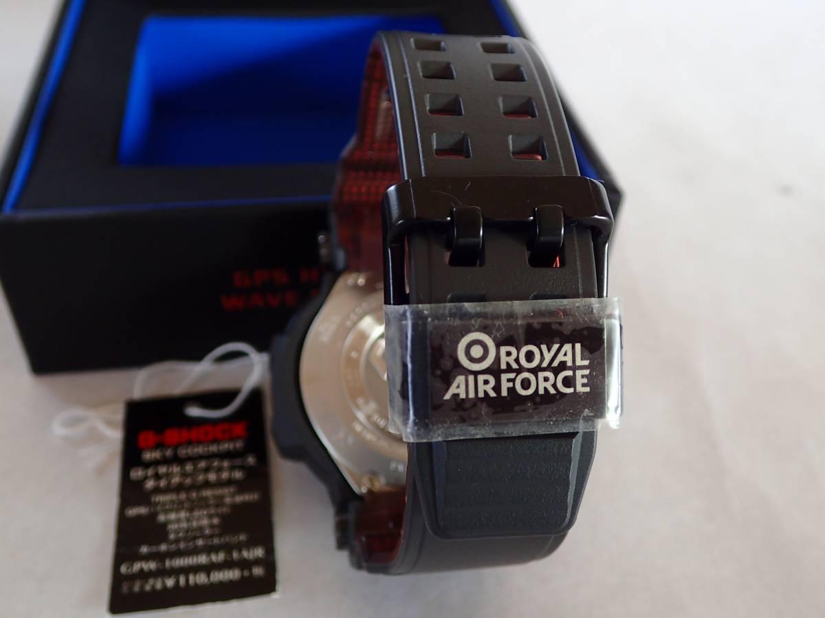 GPW-1000RAF-1AJR SKY COCKPIT ROYAL AIR FORCE タイアップモデル 中古 (お買い得商品)_画像7
