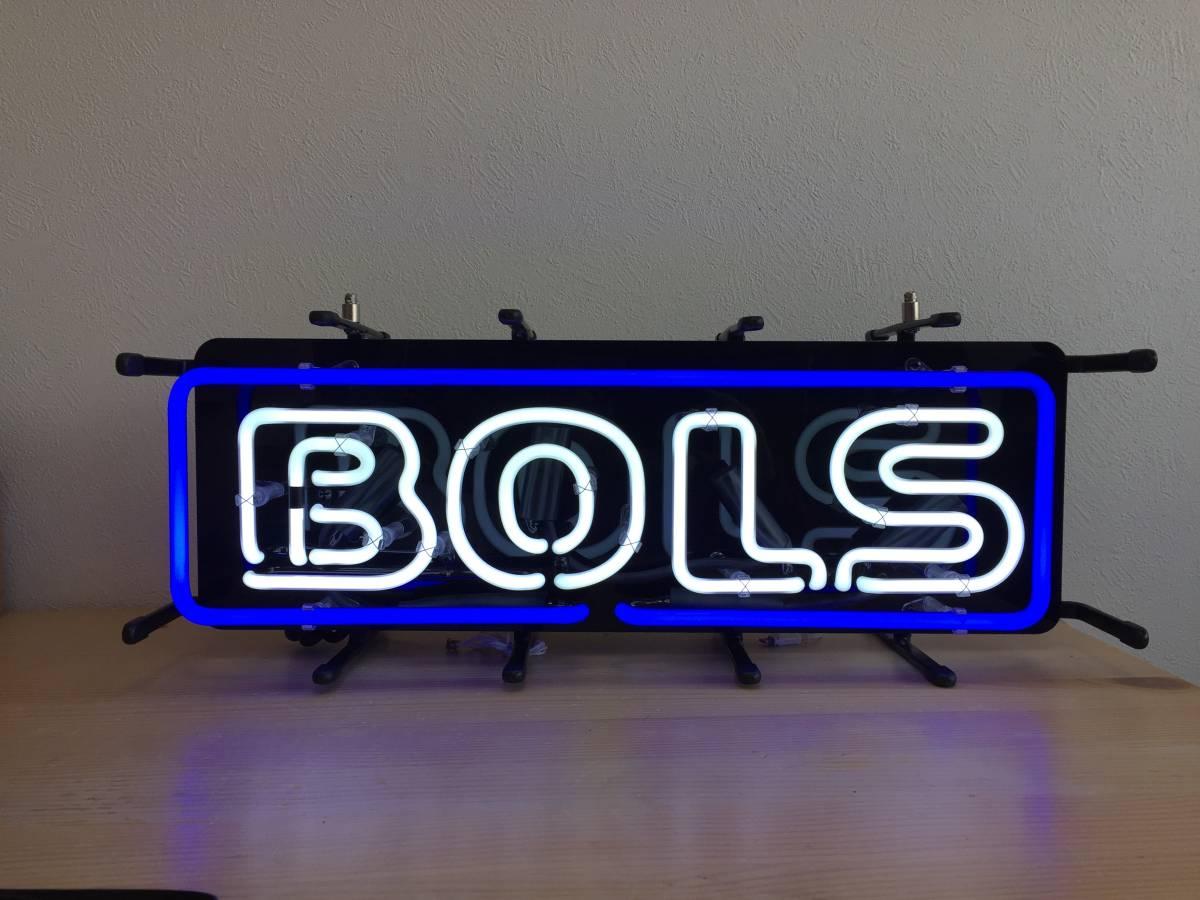 未使用 BOLS ボルス ネオンサイン ネオン管 非売品 開封保管品 屋内専用 照明 看板 店舗 インテリア 1803122_画像2