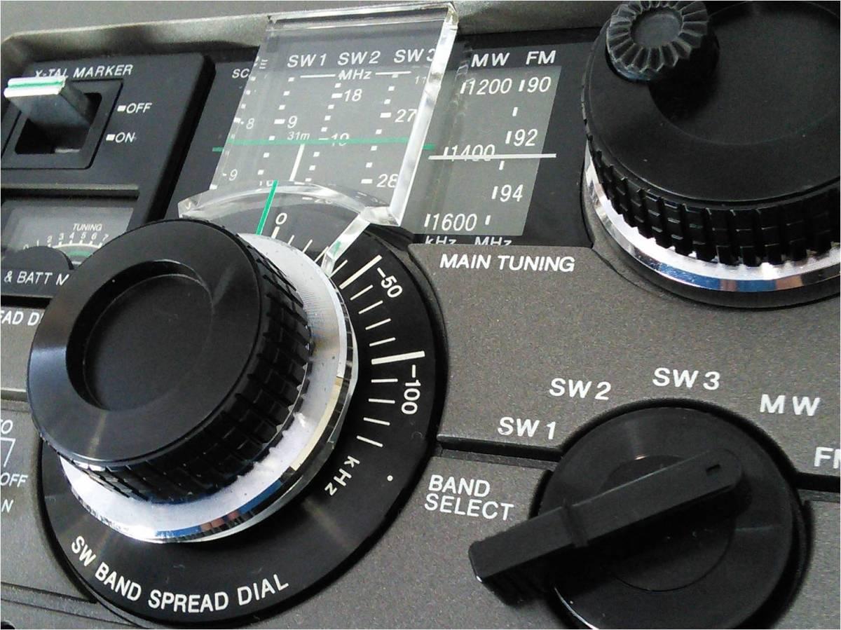 """昭和の名機""""復活""""Sony SkySensor ICF-5900 (Wide FM、レストア・美品)_画像3"""