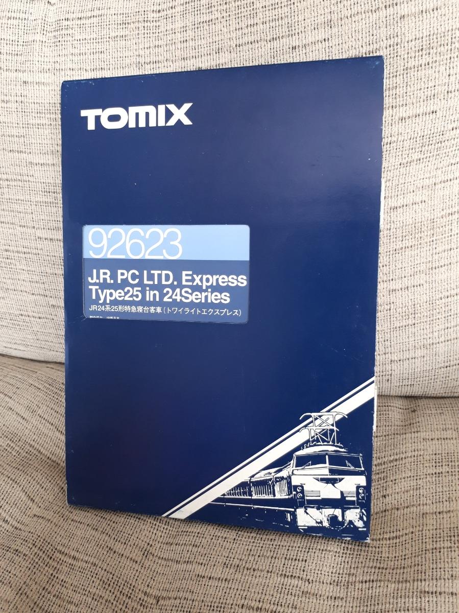 【1円~】TOMIX トミックス 92623 トワイライトエクスプレス JR24系25形 特急寝台客車 7両セット Nゲージ