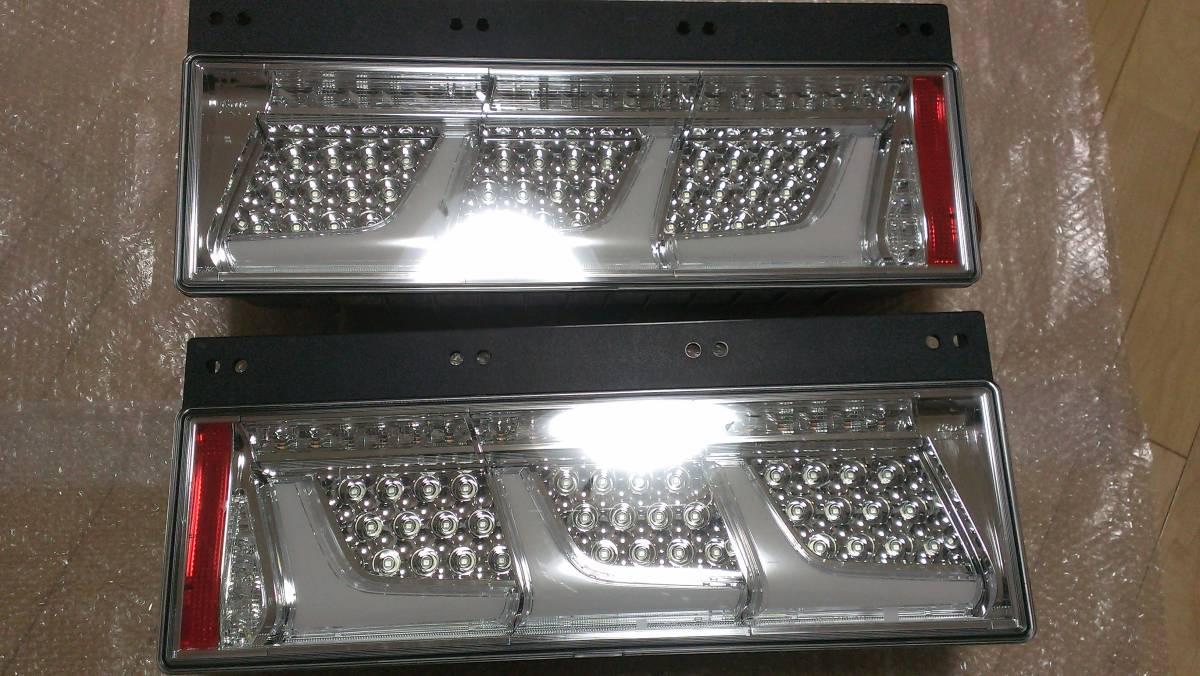 小糸純正 新品 未使用 クリアー3連LEDテールランプ 【左右セット】 車検対応_画像9