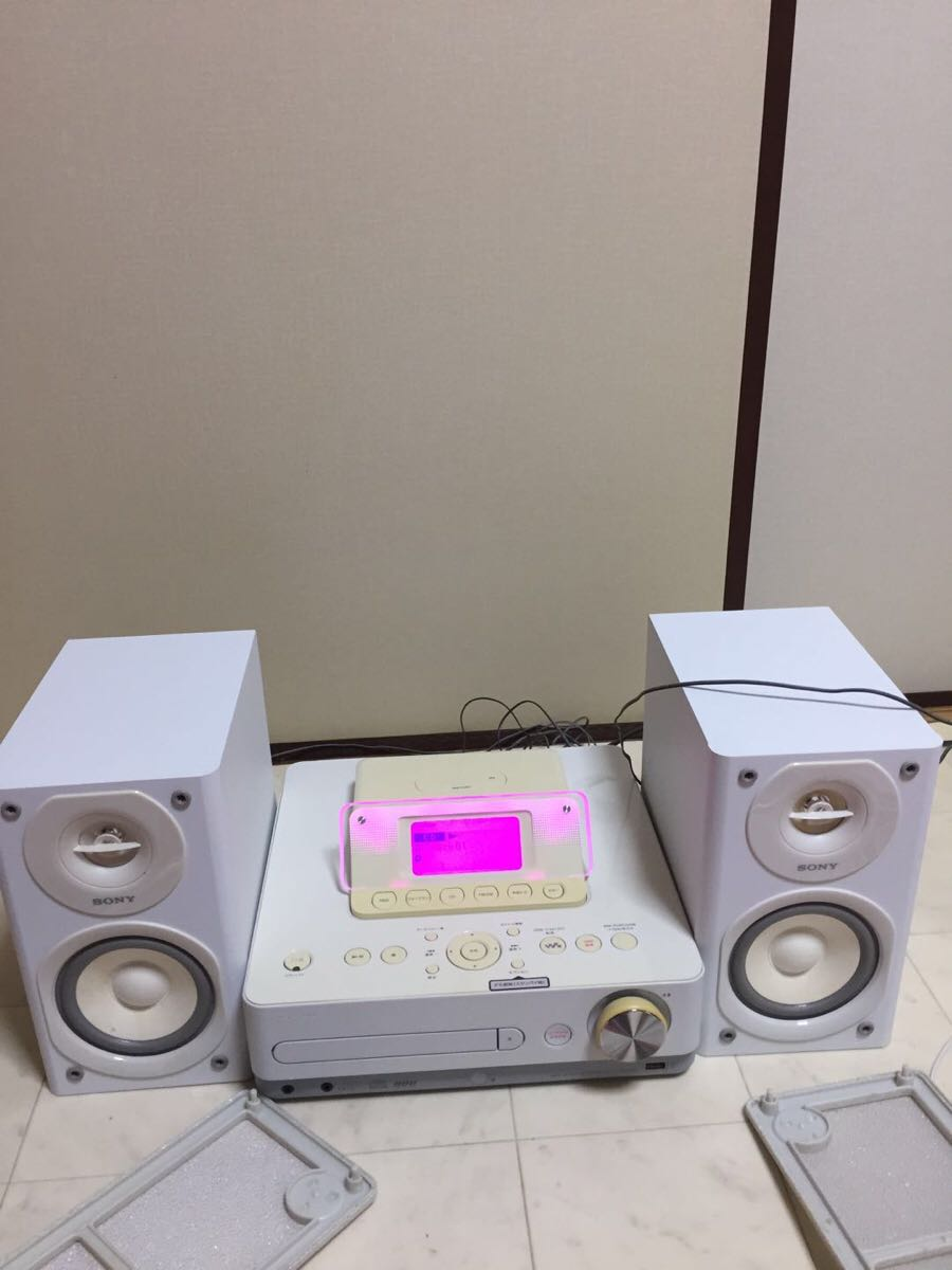 SONY CD/HDD/USB/FM/AMコンポ CMT-E350HD_画像3