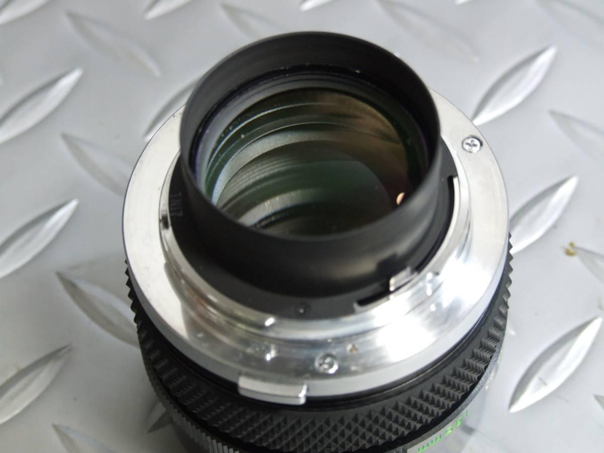 オリンパス OM-2N マクロ135ミリ/F4.5レンズ ジャンク扱い品_画像6