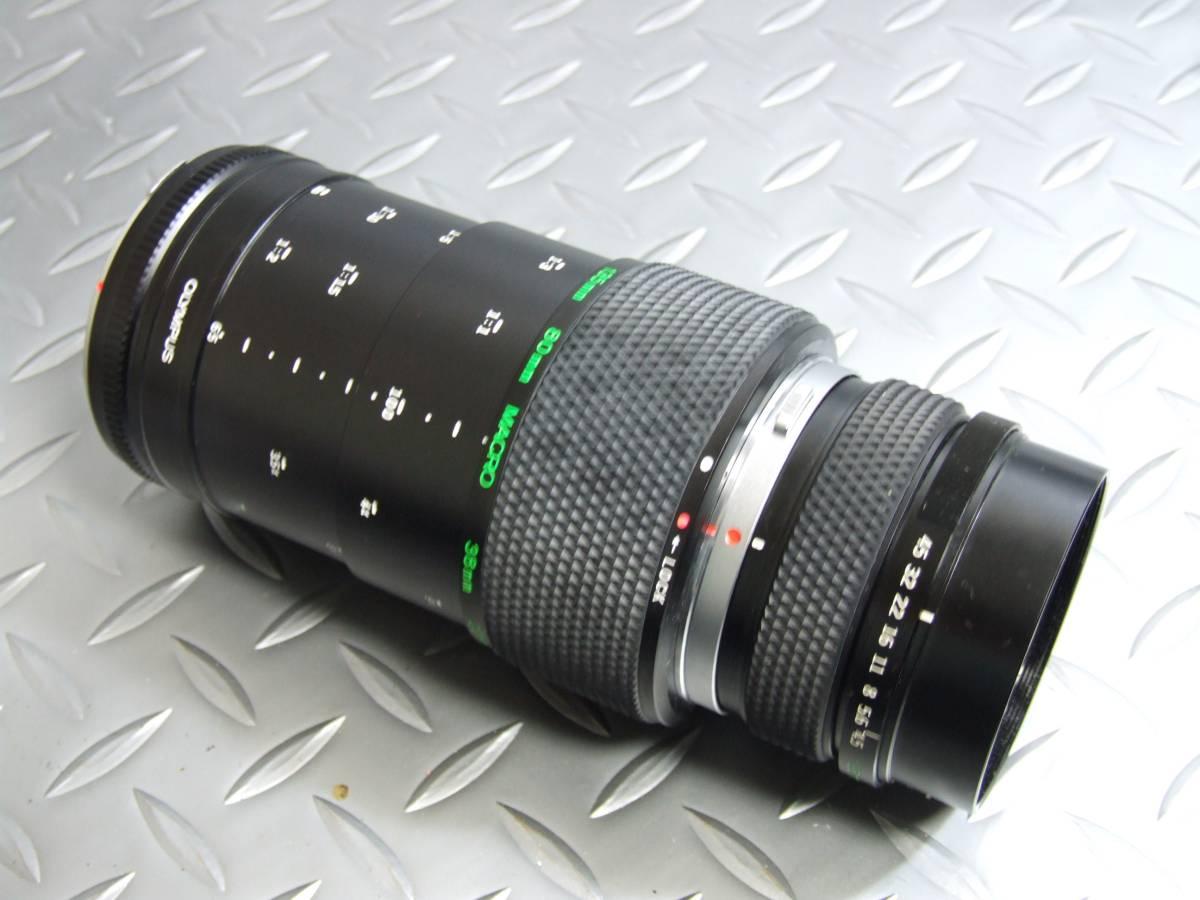 オリンパス OM-2N マクロ135ミリ/F4.5レンズ ジャンク扱い品_画像7