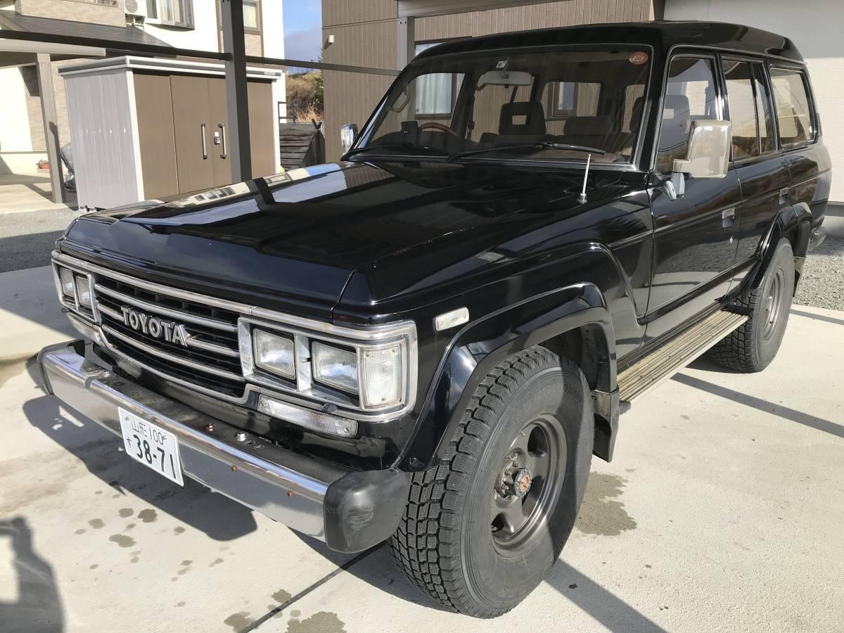 トヨタ ランドクルーザー60 黒 ディーゼルターボ VX 車検30/9まで ランクル 60