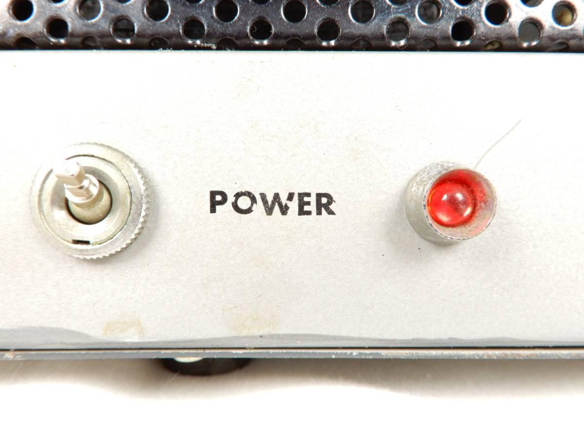 自作 オーディオ機器 通電確認済み メーカー型番不明_画像8