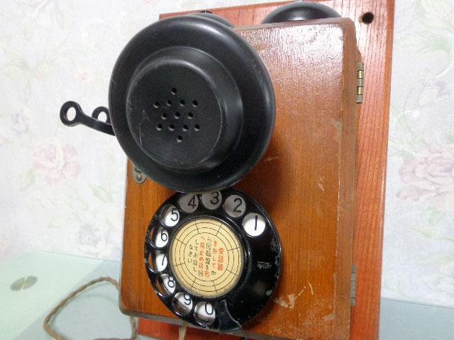 ★昭和レトロ 電話機★壁掛23号自動式電話機 / S.29年製★東京電気通信工作工場★_画像5