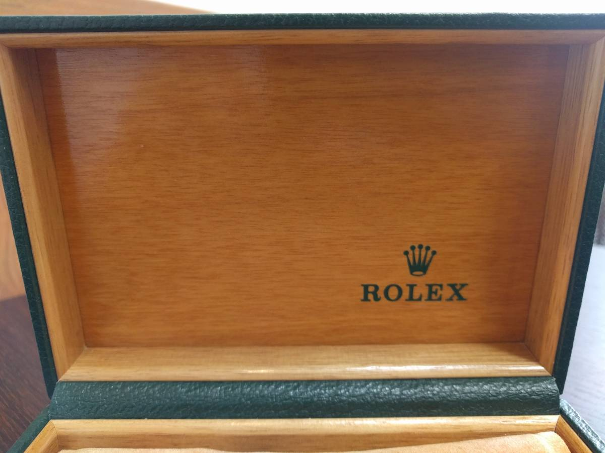■ROLEX ロレックス 空箱のみ 時計なし 冊子あり GMTマスター 16710 シール 2355B_画像4