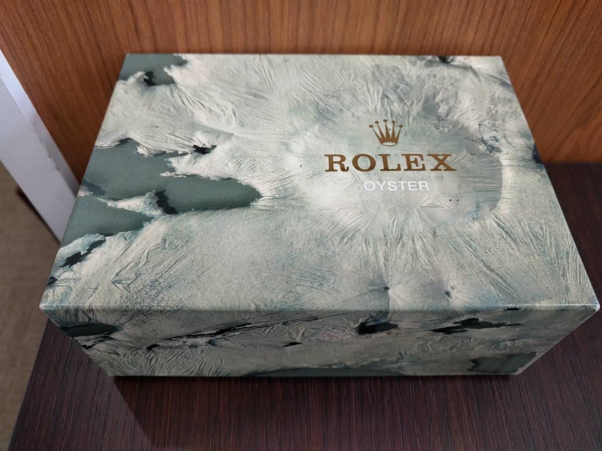 ■ROLEX ロレックス 空箱のみ 時計なし 冊子あり GMTマスター 16710 シール 2355B_画像9