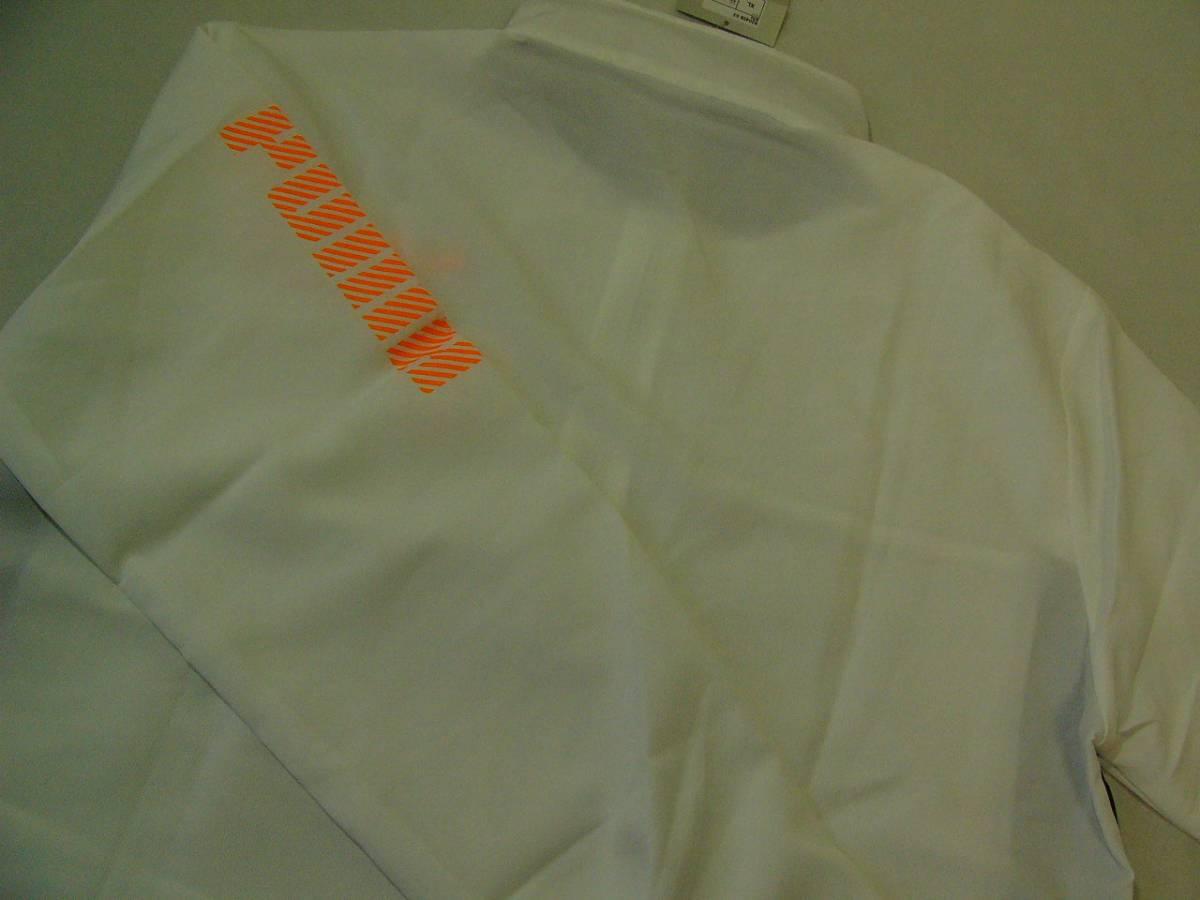 訳あり PUMA プーマ DRYCELL クロスジャケット  XL 白黒_画像3