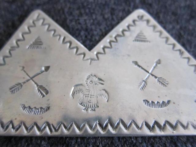 卍 1940s チマヨ パース Ganscraft サンダーバード chimayo 矢 ビンテージ 大戦 インディアン ナバホ オルテガ RRL 古着